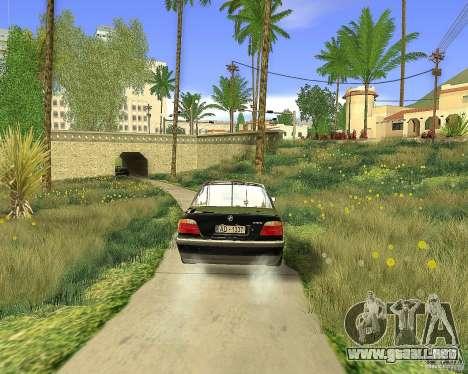 BMW 730i E38 1996 para GTA San Andreas left
