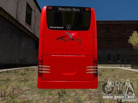 Mercedes Travego para GTA 4 visión correcta