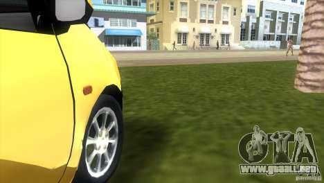 Renault Twingo para GTA Vice City vista posterior