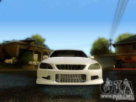 Lexus IS300 Jap style para visión interna GTA San Andreas