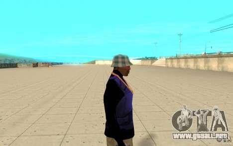 Bronik piel 1 para GTA San Andreas segunda pantalla