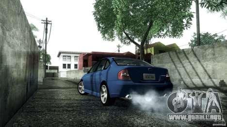 Subaru Legacy B4 3.0R specB para la visión correcta GTA San Andreas