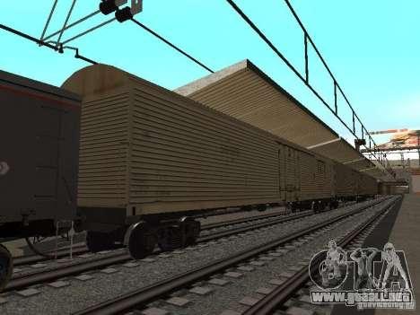 Final de ferrocarril mod IV para GTA San Andreas novena de pantalla