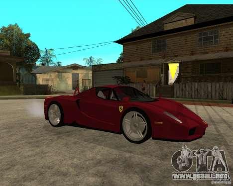 Ferrari ENZO 2003 v.2 final para la visión correcta GTA San Andreas