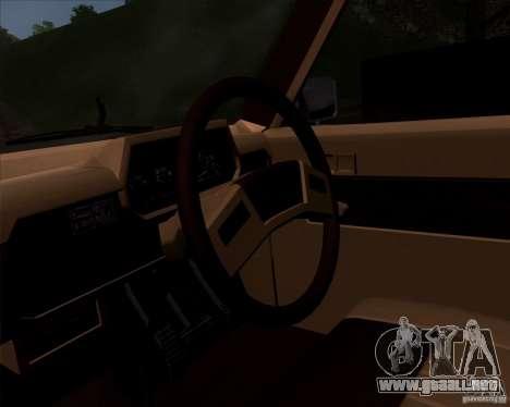 Toyota Truck RN30 para la visión correcta GTA San Andreas