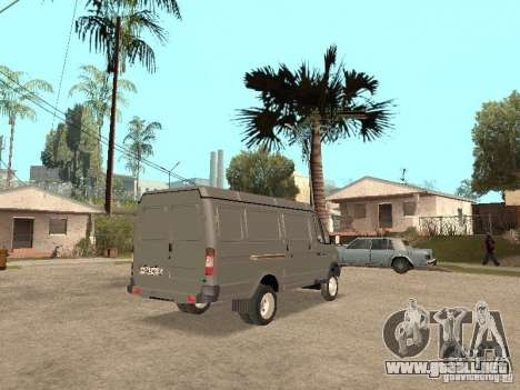 Gacela 2705 en 1994. para la visión correcta GTA San Andreas