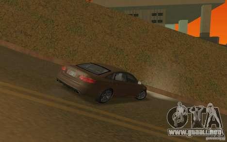 Audi RS6 TT Black Revel para la visión correcta GTA San Andreas