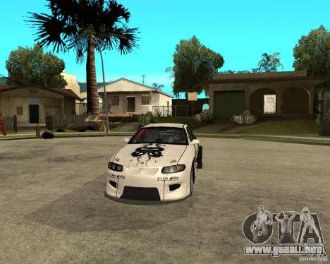 Vauxhall Monaro Rogue Speed para GTA San Andreas vista hacia atrás