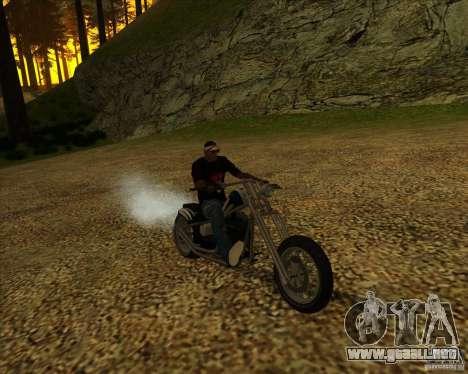Hexer bike para visión interna GTA San Andreas