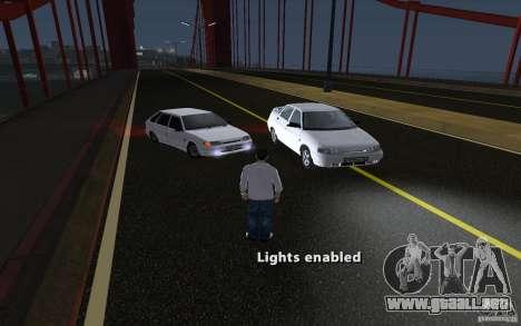 Remote lock car v3.6 para GTA San Andreas