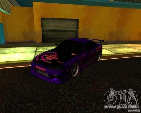 Nissan Silvia C-West para GTA San Andreas