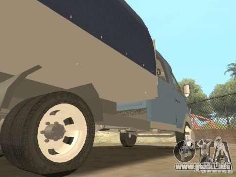 Granjero de gaz gacela 33023 para visión interna GTA San Andreas