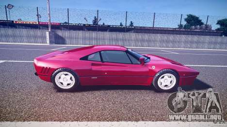 Ferrari 288 GTO para GTA 4 left