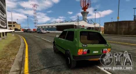 Zastava Yugo Skala para GTA 4 visión correcta
