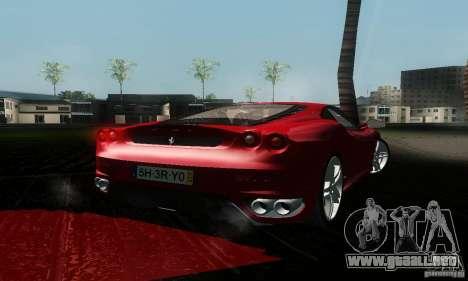 Ferrari F430 para GTA San Andreas left