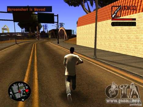 GTA IV Animation in San Andreas para GTA San Andreas segunda pantalla
