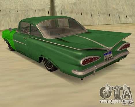 Chevrolet Biscayne 1959 para GTA San Andreas left