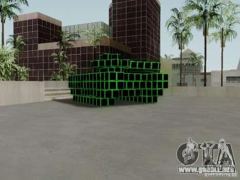 Pixel Tank para GTA San Andreas left