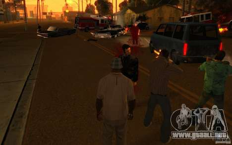 Brigada versión 2.0 para GTA San Andreas tercera pantalla