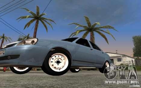 LADA priora luz tuning para visión interna GTA San Andreas