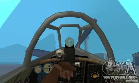 El yak-9 en el livery, Sevastopol para la visión correcta GTA San Andreas