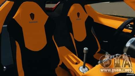 Koenigsegg CCX 2006 v1.0 [EPM][RIV] para GTA 4 vista interior