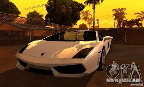 ENBSeries by JudasVladislav para GTA San Andreas segunda pantalla