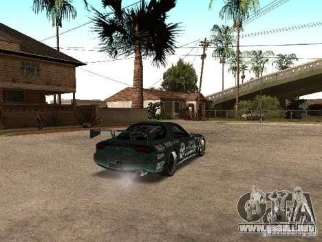 Mazda RX-7 Pro Street para la visión correcta GTA San Andreas