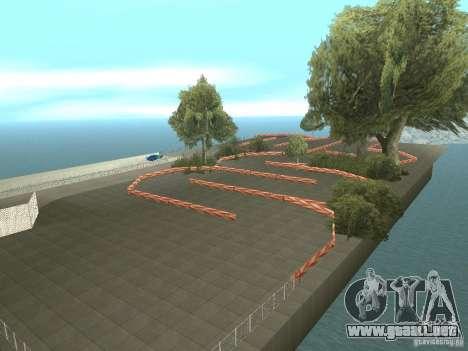 New Drift Track SF para GTA San Andreas tercera pantalla