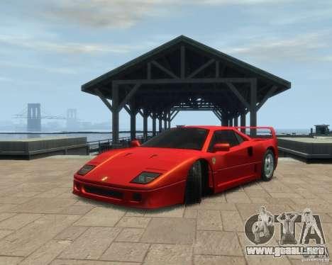 Ferrari F40 para GTA 4