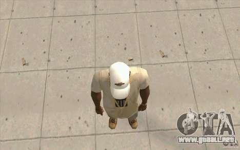 Nfsu2 Cap white para GTA San Andreas tercera pantalla