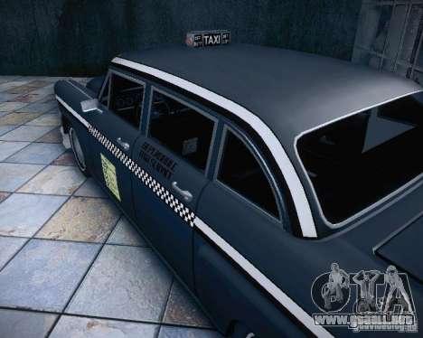 Diablo Cabbie HD para visión interna GTA San Andreas