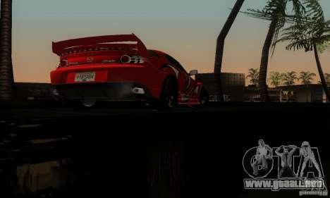 Mazda RX-8 Tuneable para vista inferior GTA San Andreas