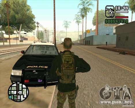 Piel Praice de COD 4 para GTA San Andreas tercera pantalla