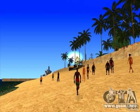 Hermoso entorno ENBSeries para GTA San Andreas tercera pantalla
