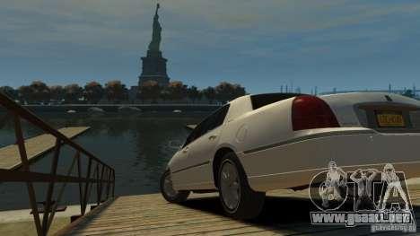 Lincoln Town Car 2003-11 v1.0 para GTA 4 left