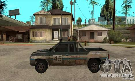 Nevada from FlatOut 2 para GTA San Andreas left
