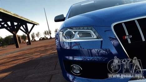Audi S3 2010 v1.0 para GTA 4 vista interior