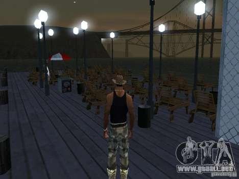 Happy Island Beta 2 para GTA San Andreas sucesivamente de pantalla