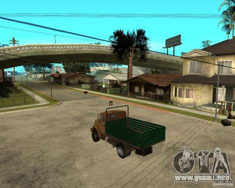 ZIL-433362 Extra Pack 1 para GTA San Andreas vista hacia atrás