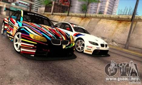 BMW M3 GT2 para GTA San Andreas left