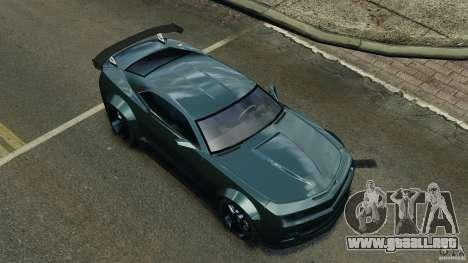 Chevrolet Camaro SS EmreAKIN Edition para GTA 4 vista desde abajo