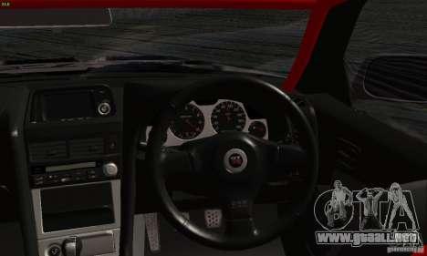 Nissan Skyline R34 Blitz para la visión correcta GTA San Andreas