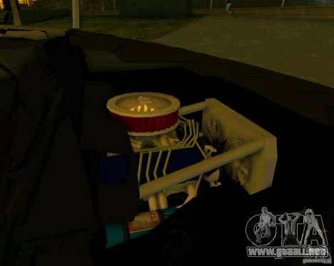 DeLorean DMC-12 V8 para GTA Vice City visión correcta