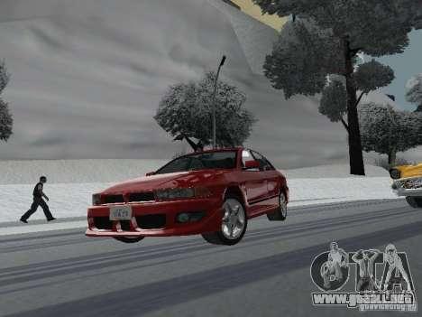 Mitsubishi Galant VR6 para GTA San Andreas vista hacia atrás