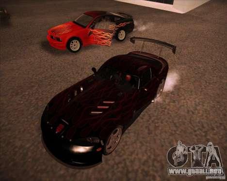 Dodge Viper TT para GTA San Andreas left