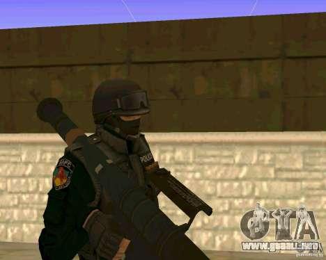La piel de las fuerzas especiales ucranianas para GTA San Andreas
