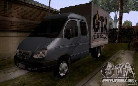 Gacela 33023 para la visión correcta GTA San Andreas