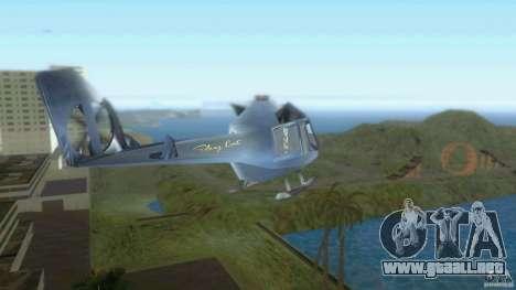 Sky Cat para GTA Vice City vista lateral izquierdo