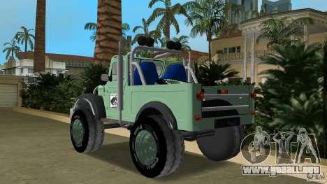 Aro M461 Offroad Tuning para GTA Vice City vista lateral izquierdo